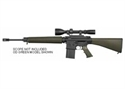 Picture of Armalite AR10 20 A4 308 BLK with Fixed Stock and Flash Suppressor